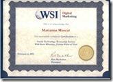 Marianna certificate