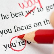 How to sub edit and proofread your own work