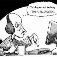 Why don't you have a blog?